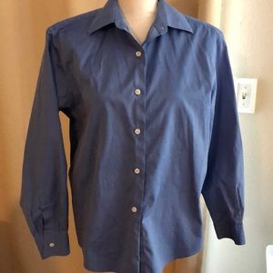 Talbots Wrinkle Resistant Button Front Shirt.